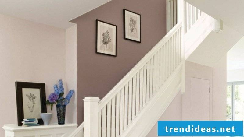 Color scheme in the hall pastel colors