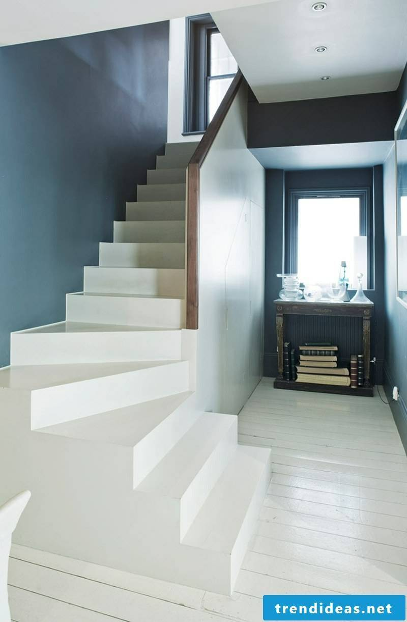 Color scheme in the corridor Pastel nuances