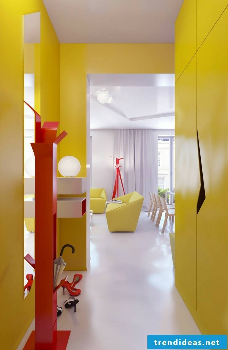 40 ideas for creative color design in the hallway | Best Trend ideas