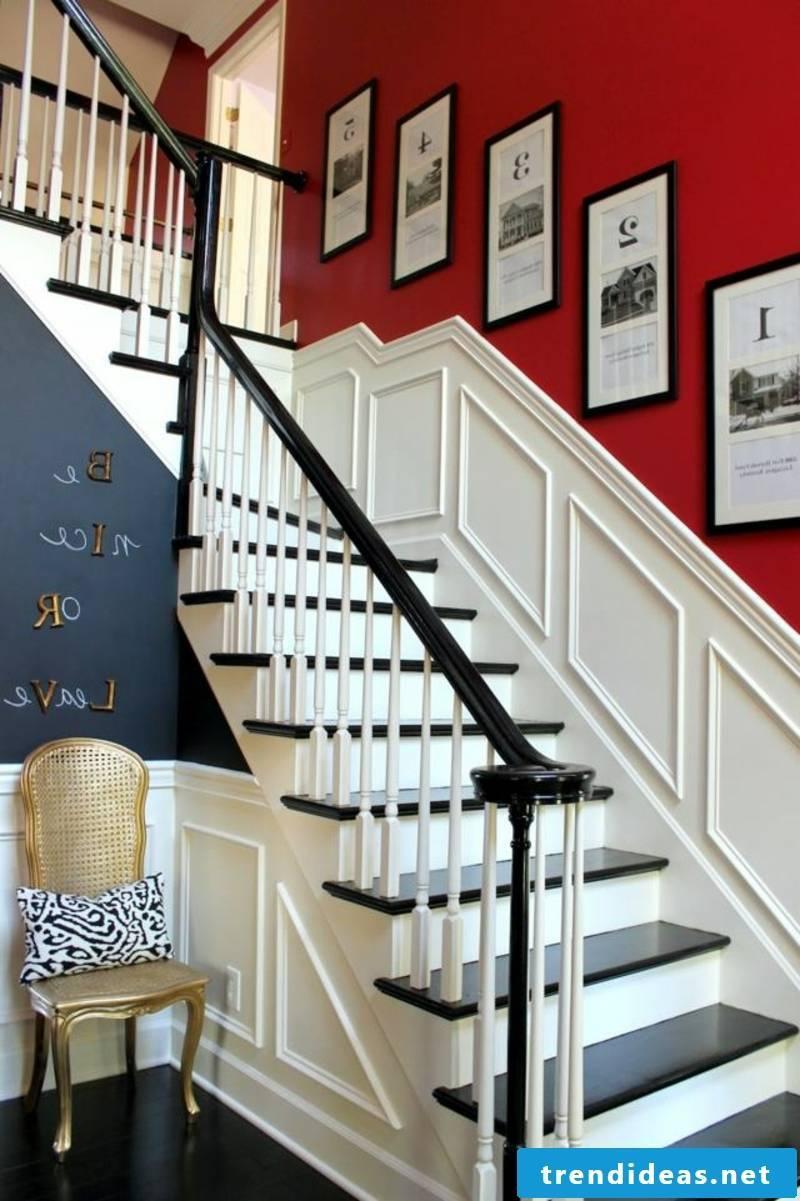 Color design in the corridor provocative color combinations