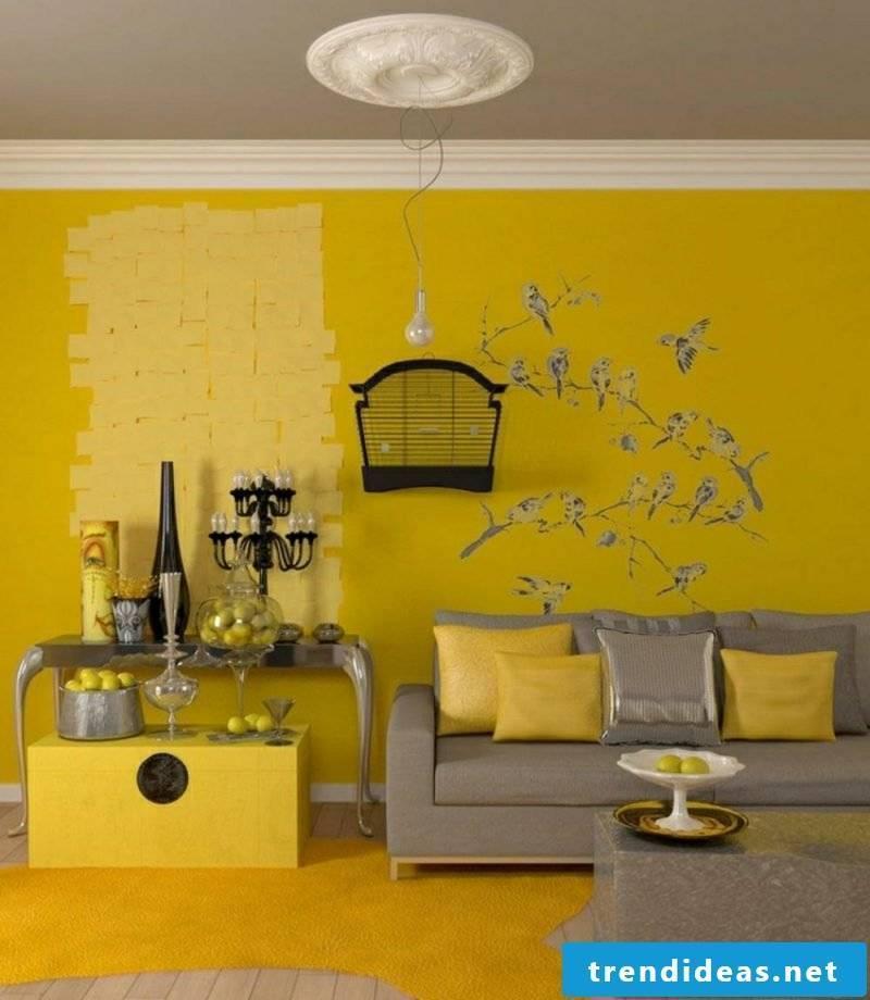 Living room ideas wall design