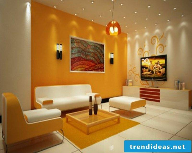 Wall colors pallet creative ideas wall design living room
