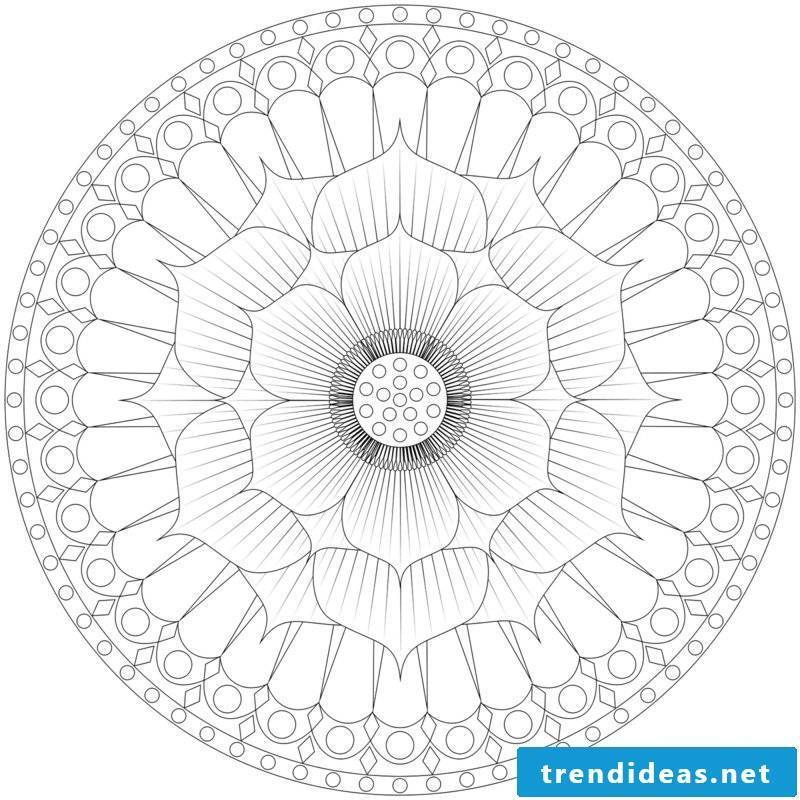 mandala templates reduce stress
