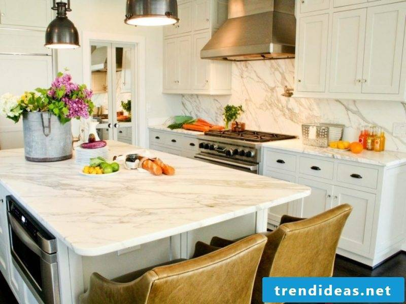 Kitchen tops marble