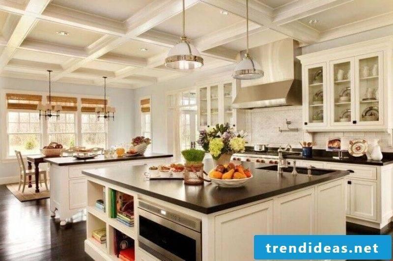 Kitchen tops dark granite