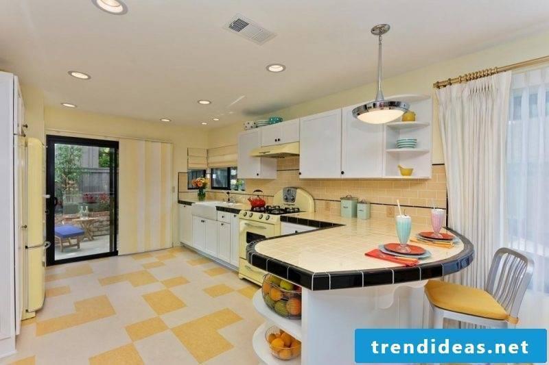 Kitchen Tops Tiles Ideas
