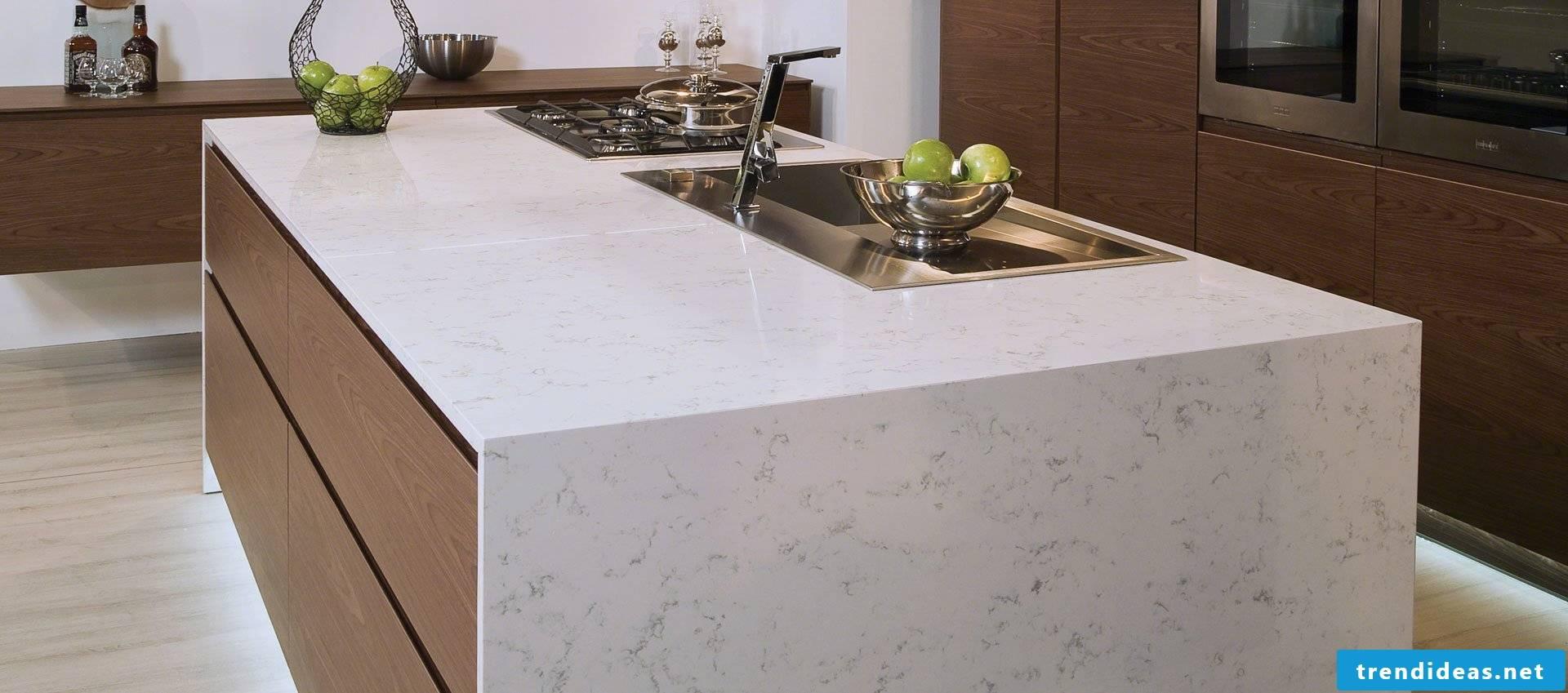 Kitchen Tops Material Comparison