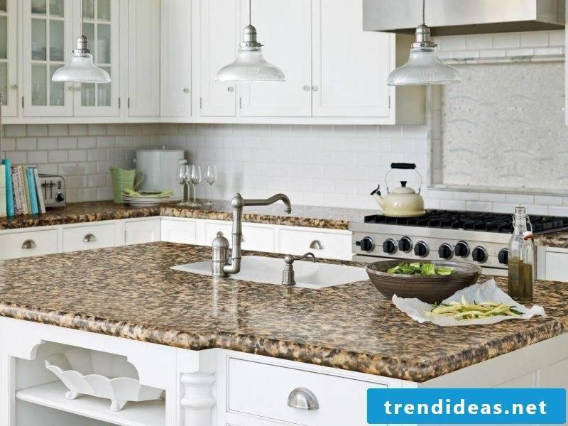 Kitchen top laminate