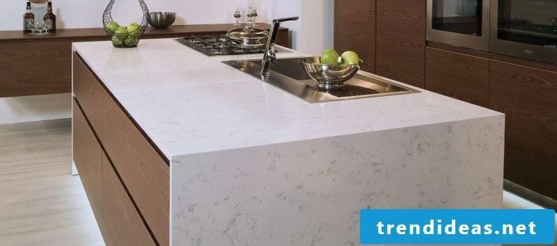 Kitchen Tops Quartz Design