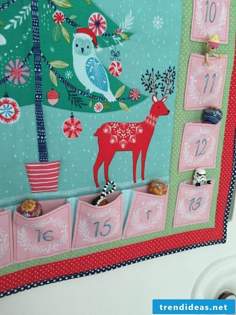 Sew Advent Calendar - Instructions Step 7