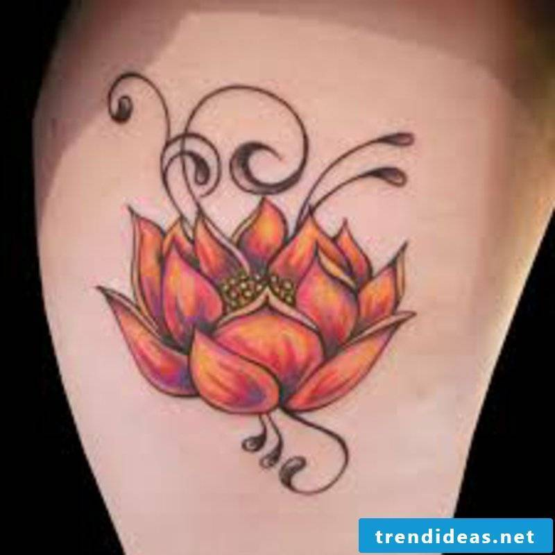 Tattoos flowers and their symbolism shoulder