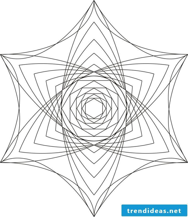 mandala templates mind