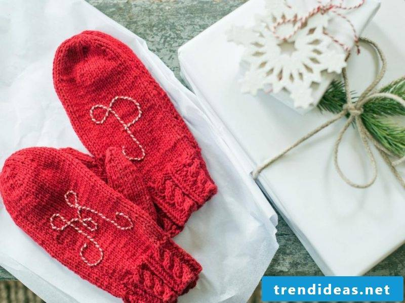 The homemade Santa Claus gifts are perfect for homemade boots