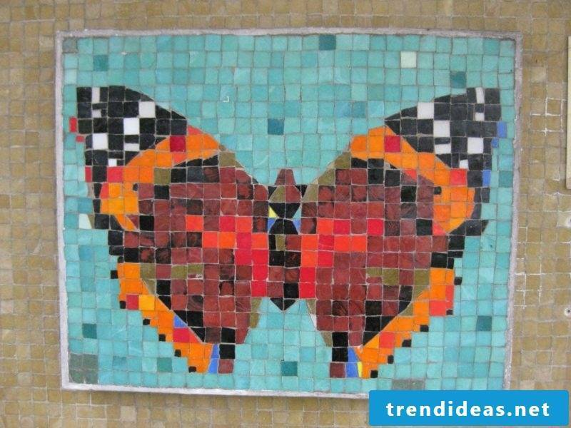 Tinker butterfly mosaic