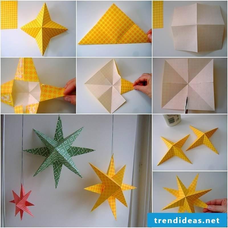 origami star creative