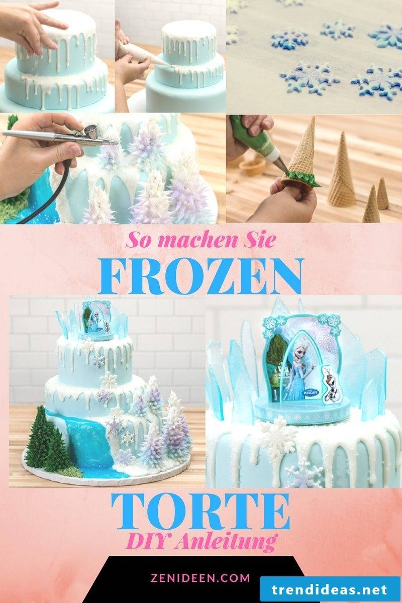 Making Frozen Motif Tarts Yourself: Instructions