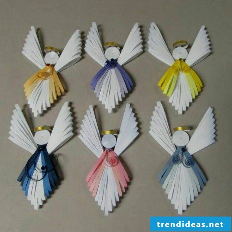 DIY Quilling Angel