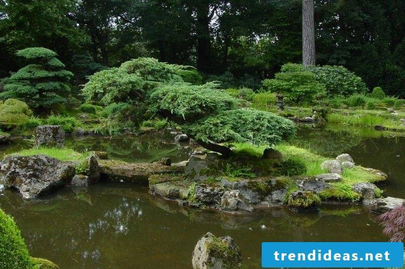 Zen garden as an oasis of peace and relaxation