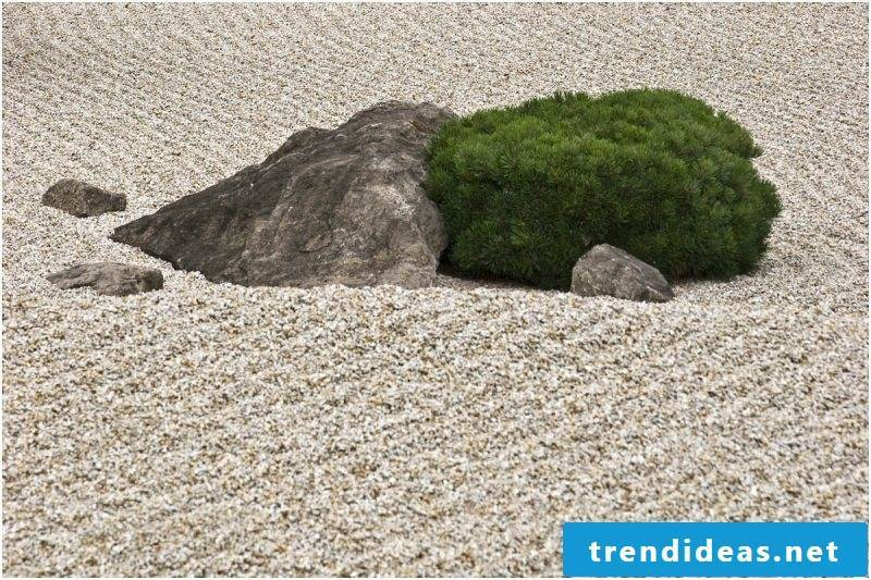 Zen garden elements
