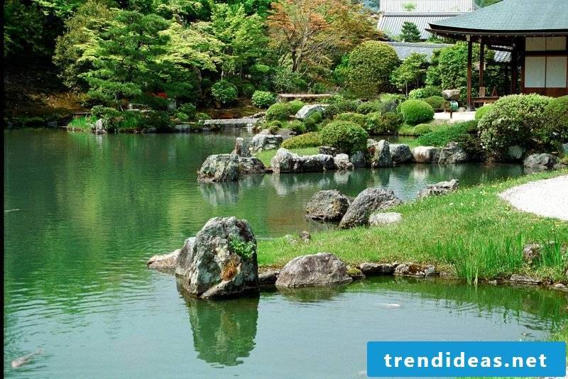 impressive rock garden