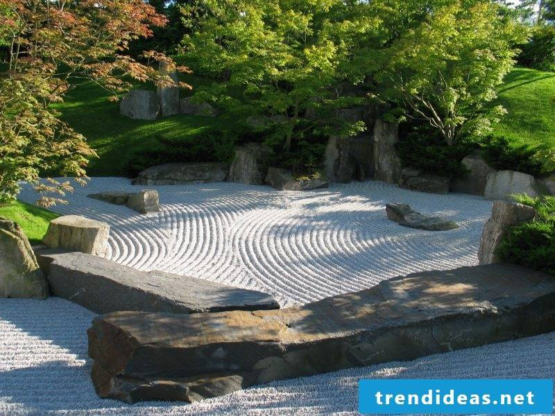 Japanese Zen garden design ideas