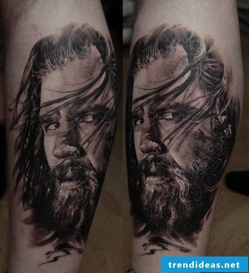 Tattoobilder in black and white