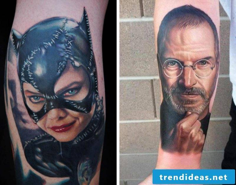 The best tattoo images by Nikko Hurtado are portraits