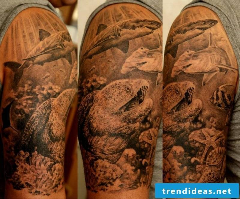 Tattoos of Samohin