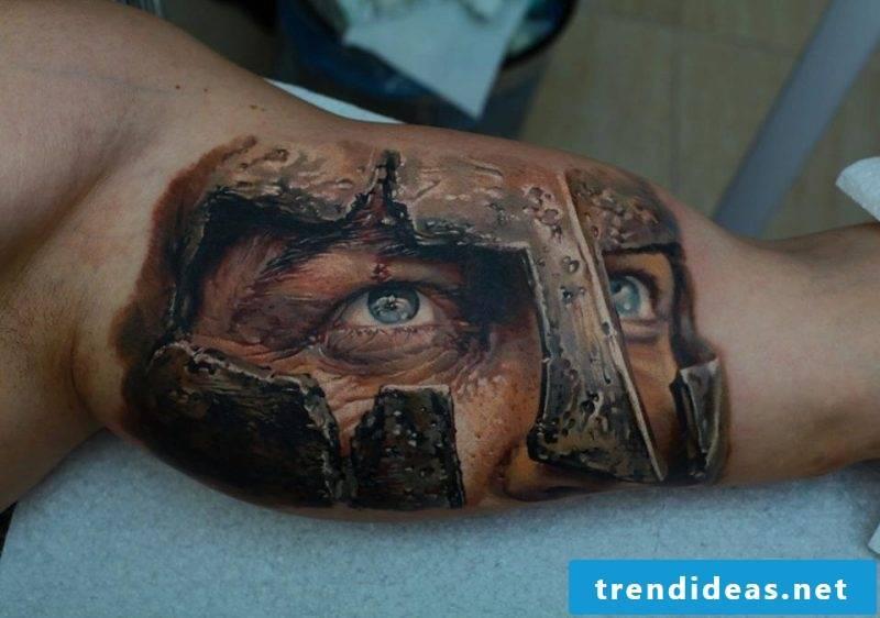 Tattoobilder faces of Samohin