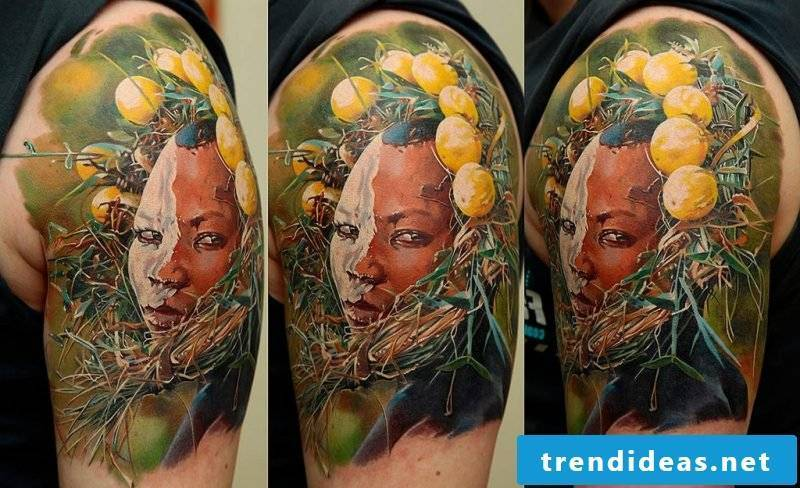 Tattoos of Dimitry Samohin