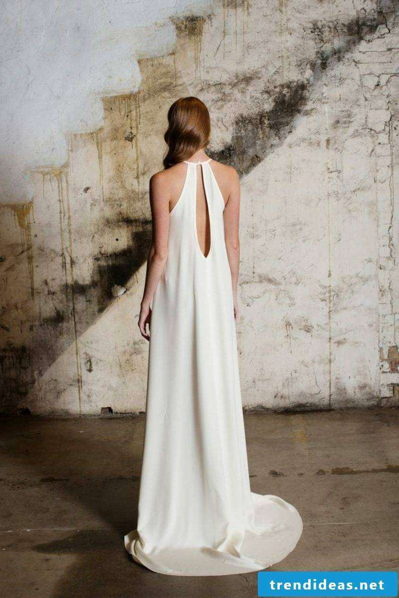 Keyhole original wedding dress