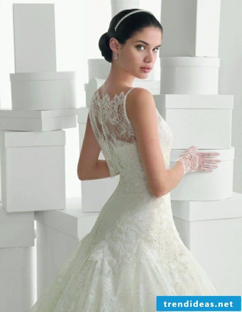 Accent in the back original wedding dress