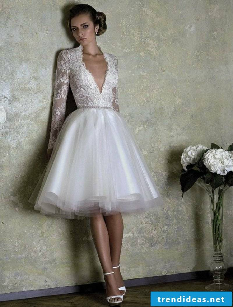 stunning bridal gown lace top