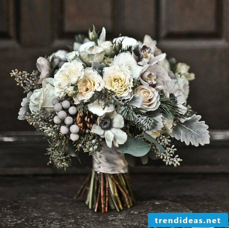Wedding bouquet in vintage style