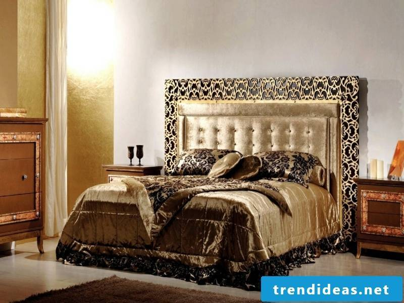 gold linen