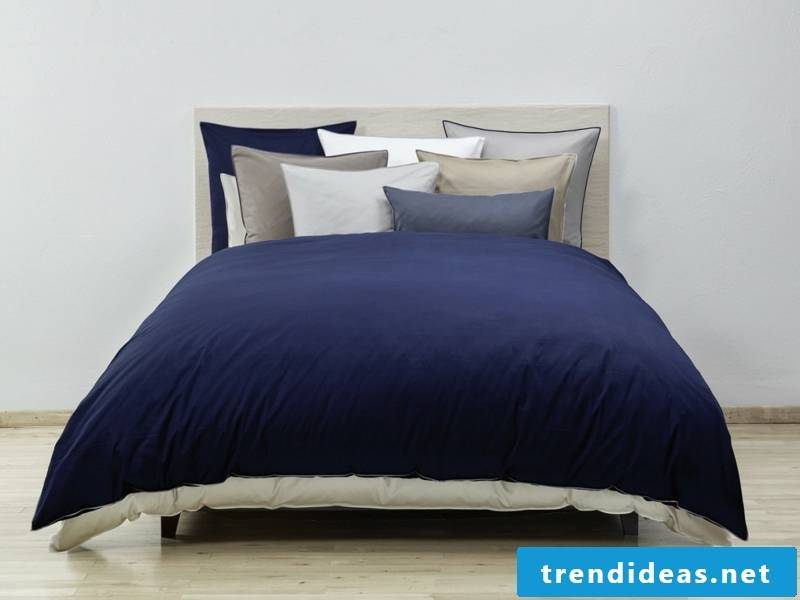 dark blue beautiful luxury bed linen