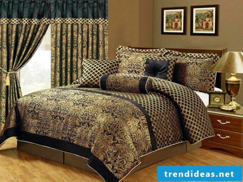 beautiful sumptuous luxury bed linen
