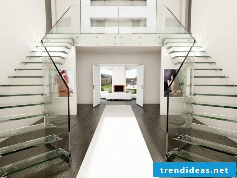 extravagant identical modern stairs