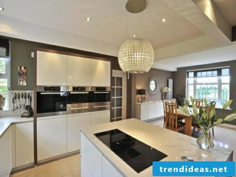 granite modern kitchen island