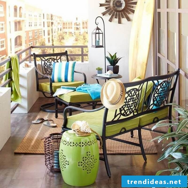 Bring color with design garden furniture