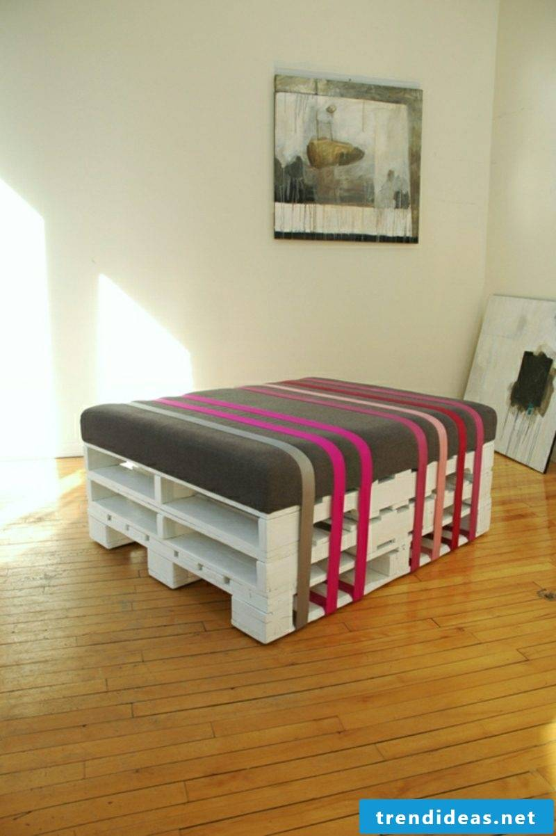 Build pallet furniture yourself