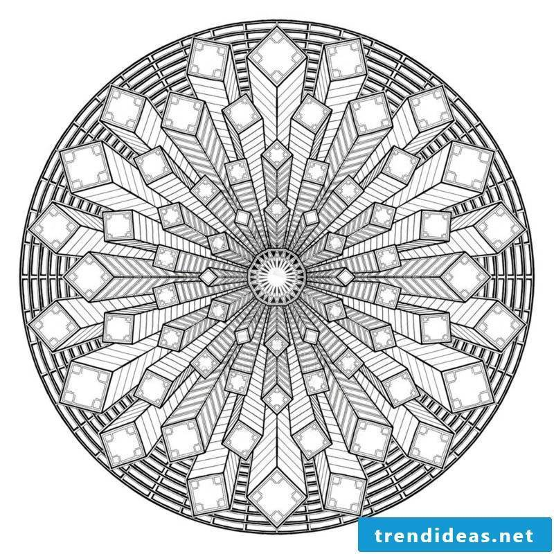 Mandala submission thinking