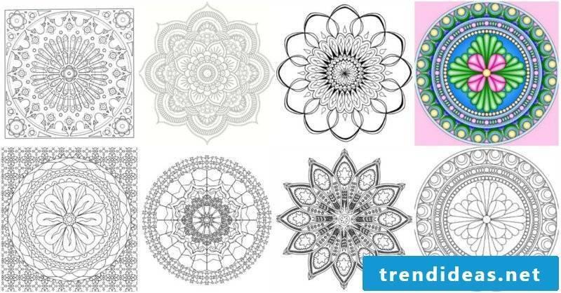 mandala templates 6 examples