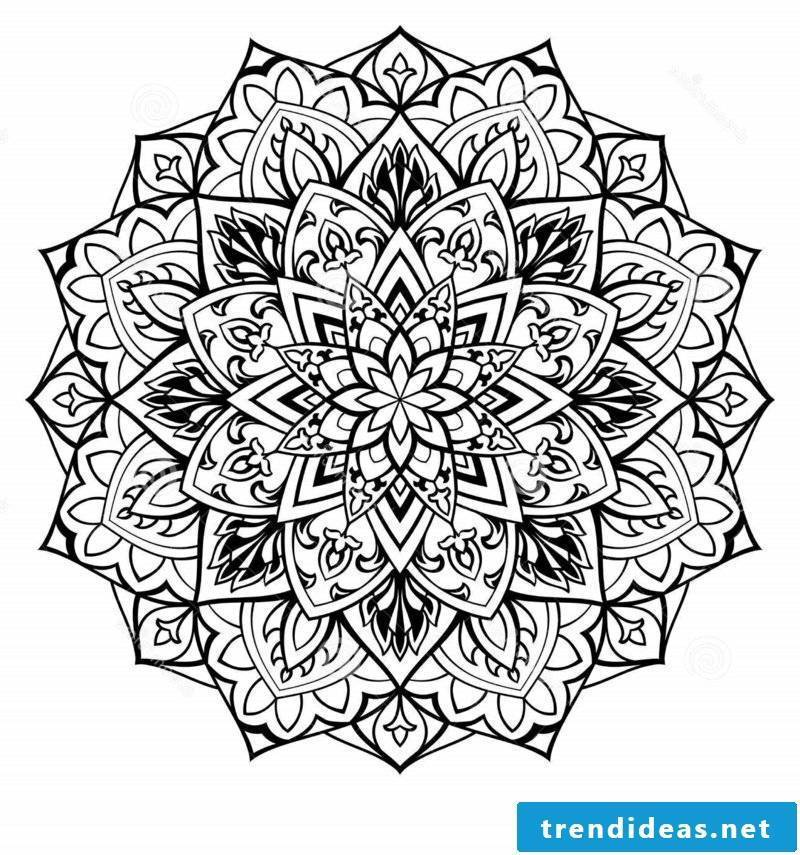 Mandala Templates Relaxation