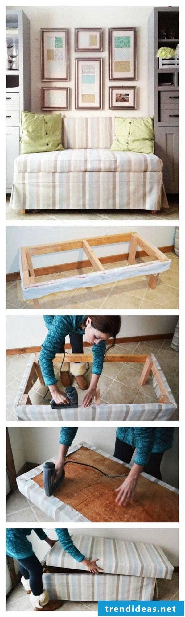 DIY sofa make yourself