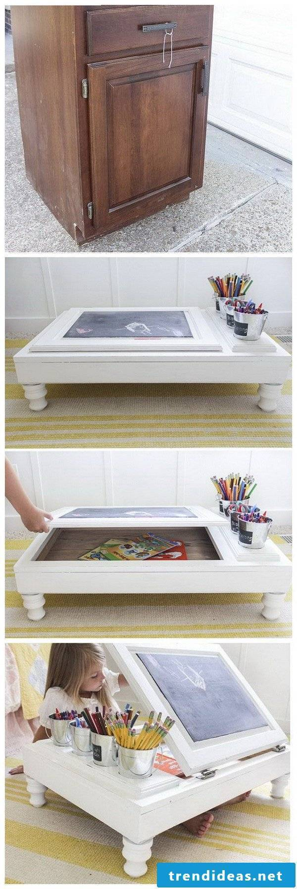 DIY DIY ideas with old cabinet