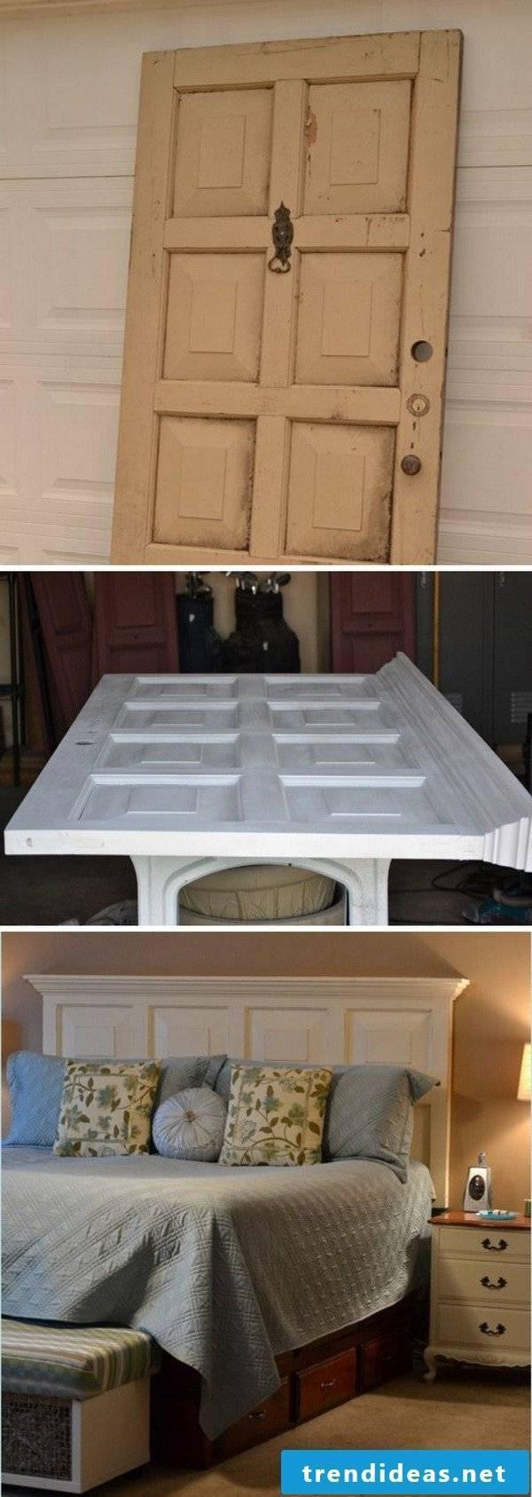 DIY furniture with old doors