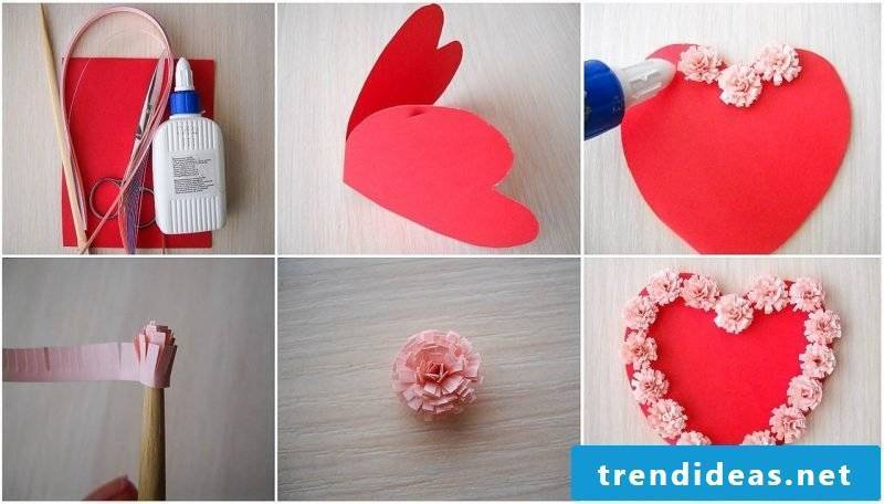 Making Origami Flower: Creative Idea for Valentine's Day