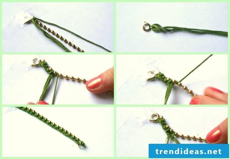 Bracelets tie fast