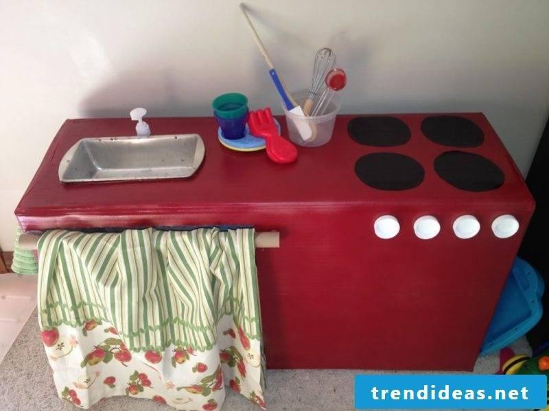 Children's kitchen itself build instructions